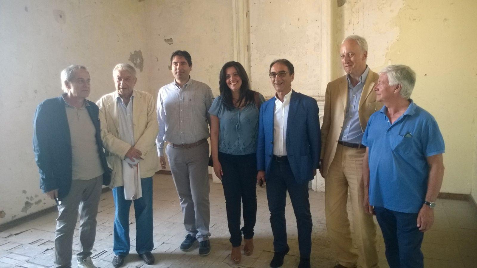 Il sindaco sergio abramo ha dato il via ai lavori di - Architetto palermo ...