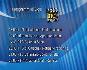 In Radio, TV e Web su RTC – Programmi di Martedì 21 Settembre